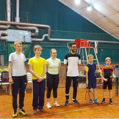 награждение детей теннисистов